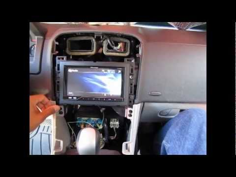 2006 chevrolet equinox pioneer stereo install youtube. Black Bedroom Furniture Sets. Home Design Ideas