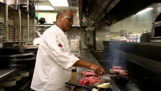 How to Grill a Steak at Bern's Steakhouse - Chef Hab