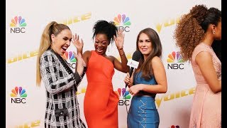 Team Alicia SPILLS What Alicia Keys Is REALLY Like Is BTS Of The Voice!