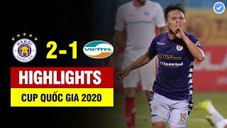 Highlights Hà Nội 2-1 Viettel | Quang Hải và cú vung chân thiên tài đưa Hà Nội đi vào lịch sử