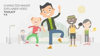 Character Maker - Explainer Video Toolkit | After Effects template