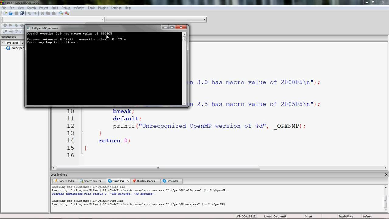 c++ compiler windows 7 code blocks mingw