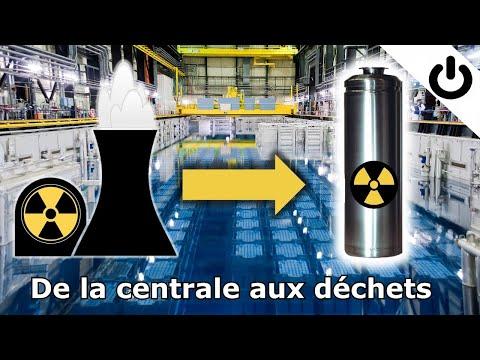 ⚡☢️🗑️ De la centrale aux déchets radioactifs - DÉCHETS RADIOACTIFS #1