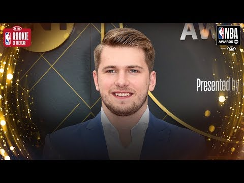 Luka Doncic Wins Kia Rookie of The Year | 2019 NBA Awards
