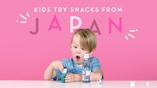 Kids Try Snacks from Japan