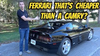 I Bought the Cheapest FERRARI 348 in the USA, WITH ALMOST 100,000 MILES!