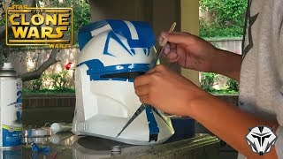 Captain Rex Hasbro Helmet Conversion Build
