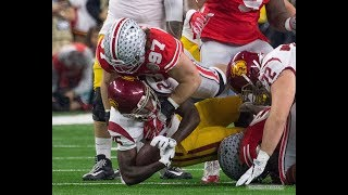 Nick Bosa (Ohio State EDGE) vs USC  2017