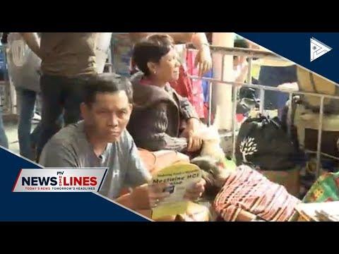 Passengers start swarming Cubao bus terminal