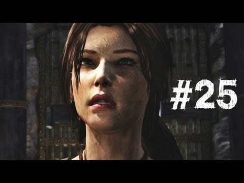 Tomb Raider Gameplay Walkthrough Part 25 - Drop The Elevator (2013) - Smashpipe Games