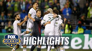 Watch penalty kick shootout between Seattle Sounders & Portland Timbers | Audi 2018 MLS Cup Playoffs