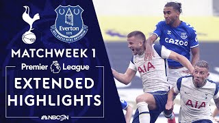 Tottenham v. Everton   PREMIER LEAGUE HIGHLIGHTS   9/13/2020   NBC Sports