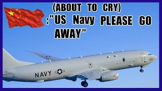 [Live ATC] Chinese Navy trying to kick the US Navy from the South China island