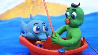 Our Best Of Baby Shark Cartoons With Play Doh Animation