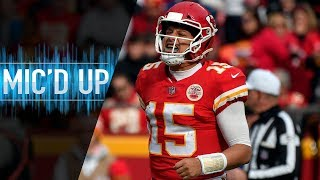 "Patrick Mahomes Mic'd Up vs. Cardinals ""Hey, ya'll got a hell of a defense!"" 