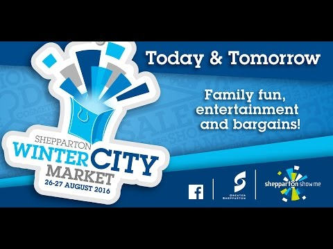 Winter City Market 2015 - Greater Shepparton
