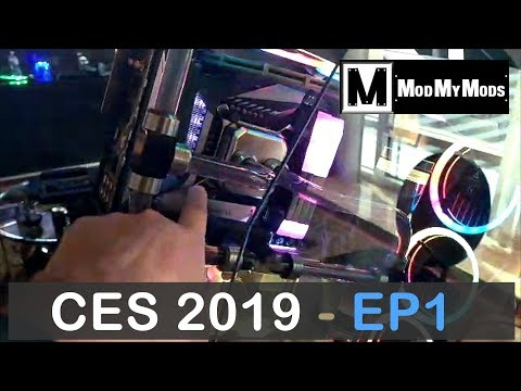 Watercooling at CES 2019 - Guest Video