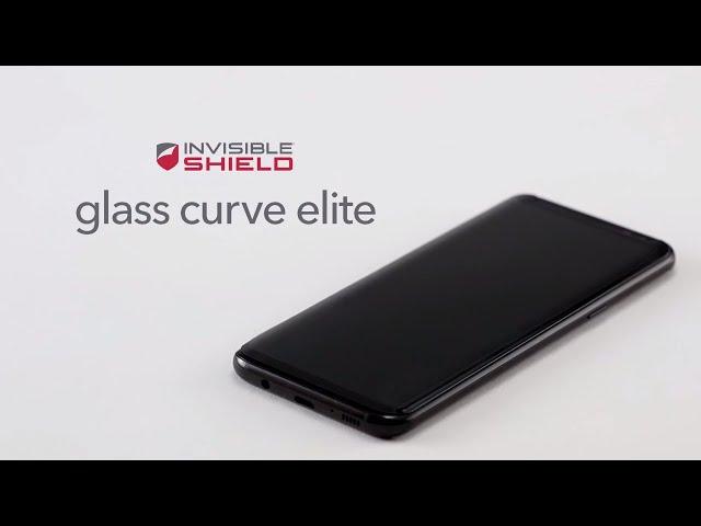 Belsimpel-productvideo voor de InvisibleShield Glass Curve Elite Screenprotector Samsung Galaxy S8