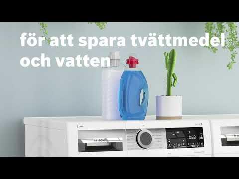 En ny generation tvättmaskiner i Serie 6 från Bosch.