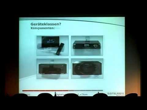 Vortrag: DAB+ - Christian Hoppe über Absatz und Entwicklung