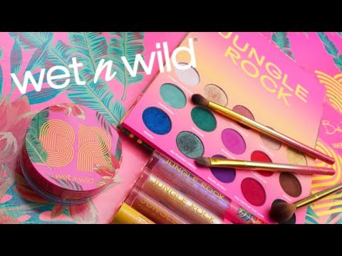 New Makeup from Wet 'N Wild   Jungle Rock Review