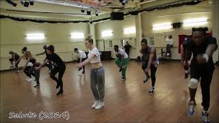 Little Mix' dance rehearsals (up to 2020)