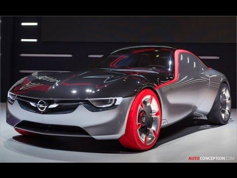 Car Design: Opel/Vauxhall GT Concept