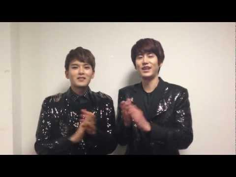 SUPER JUNIOR-M 슈퍼주니어-M Ryeowook & Kyuhyun's Message