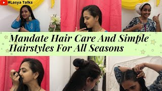 Lasya shares her latest video on hair care..