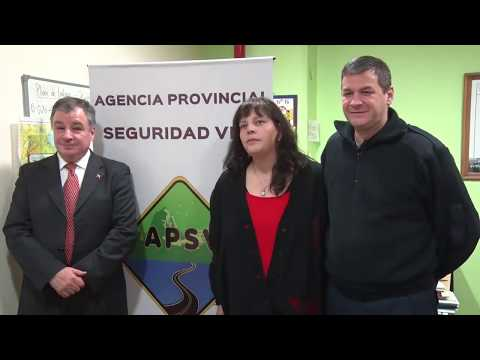 La Agencia de Seguridad Vial y el Consulado Chileno se reunieron con periodistas