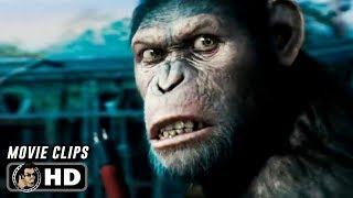 RISE OF THE PLANET OF THE APES Clips + Trailer (2011) James Franco Andy Serkis