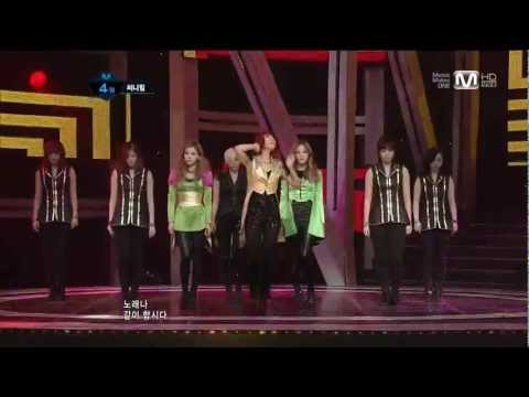 Sunny Hill ft Zico (Block B) - The Grasshopper Song live (Feb 2, 2012)