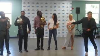 Greg Hamilton, WWE Superstars at Be a STAR event at Boys & Girls Club in Miami