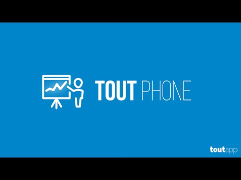 Making Calls with Tout Phone