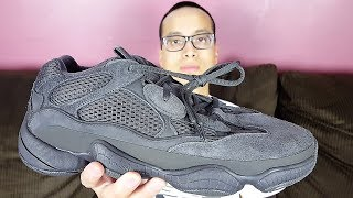 The Adidas Yeezy 500 Is DEAD!!! Adidas Yeezy 500 Utility Black Review!!!