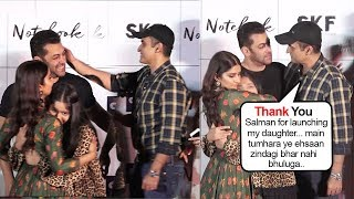 Monish Behl Gets Emotional & THANKS Salman Khan For Launching his Daughter In Notebook Movie