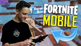 FAST MOBILE BUILDER on iOS / Duos with ONE_Shot_GURL / 690+ Wins / Fortnite Mobile + Tips & Tricks!