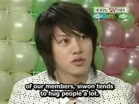 Super Junior - Heechul talks about Siwon's skinship [Eng Sub]