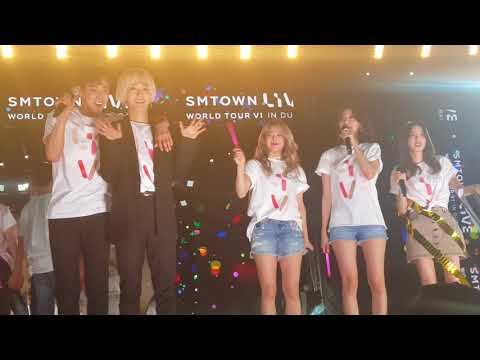060418 SMTOWN LIVE WORLD TOUR in Dubai Smtown Ending - Hope