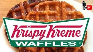 Krispy Kreme Doughnut Waffles - Man Vs Youtube #2
