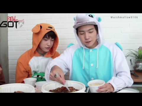 JAEBUM, He Eats and Sleeps well (GOT7 JB)