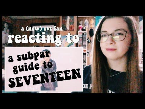 """Reacting To """"A Subpar Guide To Seventeen""""!"""