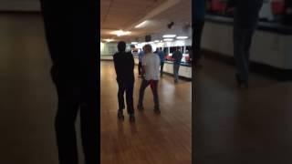 Da boyz with those old school shuffle moves
