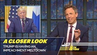 Trump Is Having an Impeachment Meltdown: A Closer Look