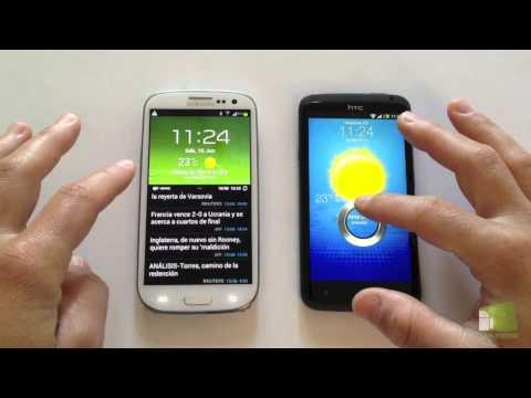 Comparativa Samsung Galaxy S3 vs HTC One X en español   FaqsAndroid.com