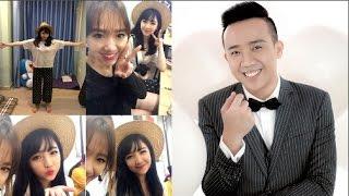Trấn Thành liên tục trêu chọc em gái xinh như hoa của Hari Won(Tin tức Sao Việt)