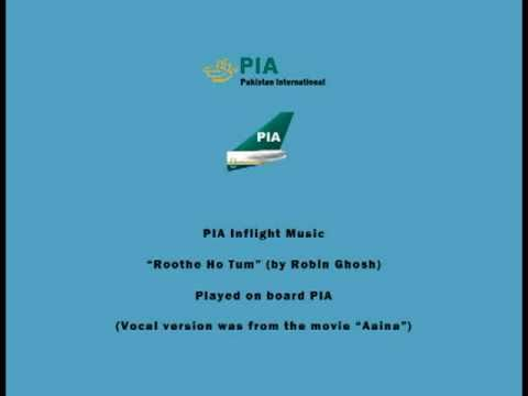 PIA Pakistani Inflight Music - Roothe Ho Tum (by Robin Ghosh) - Instrumental