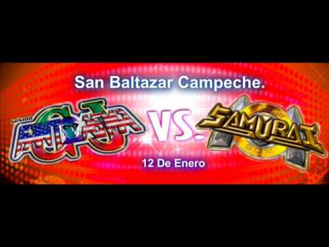 Sonido Samurai - Veneno - San Baltazar Campeche - 12 - Enero - 2013