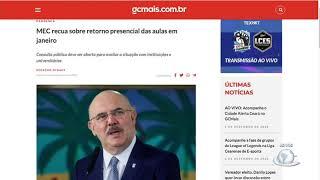 MEC desiste da retomada das aulas presenciais nas Universidades Federais   Jornal da Cidade