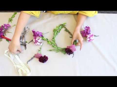 DIY Floral Crown Tutorial